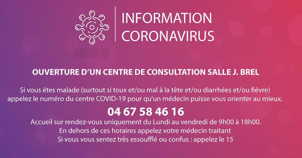 CENTRE DE CONSULTATION COVID 19